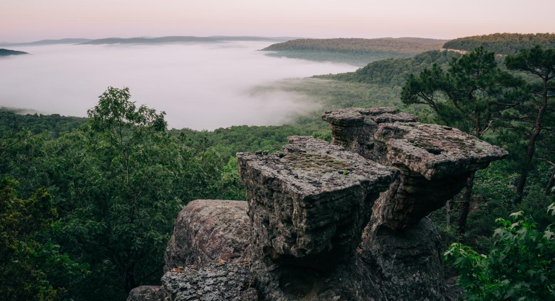 Tea Table Rocks Arkansas